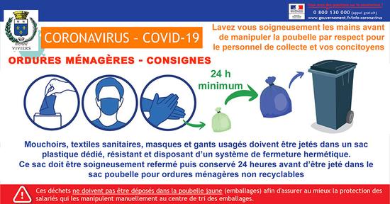 COVID-19 - Déchets potentiellement dangereux